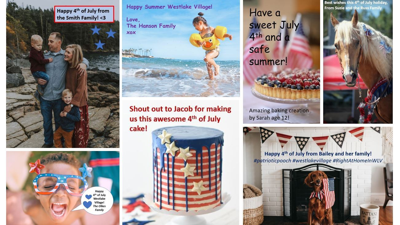 4th July Share Examples